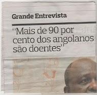 """O grande problema agora será localizar os 10% de angolanos que não estão """"avariados"""""""