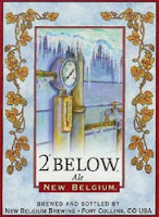 New Belgium 2 Below Ale