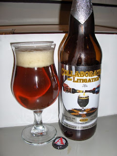 Avery Collaboration Not Litigation Ale