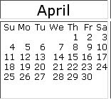 April 2010 events