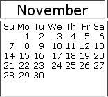 November 2010 events