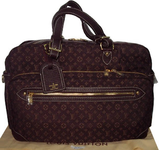 Lv M95221 Louis Vuitton Monogram Mini Lin Diaper Bag Handbag Purse