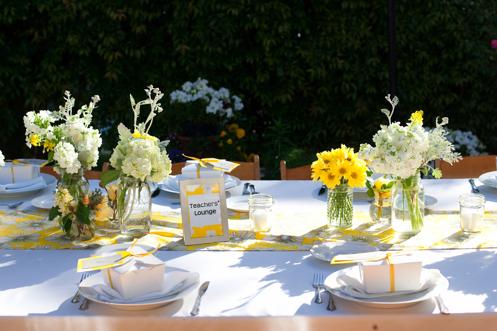 mademoiselle wedding inspiration d co centre de table r cup. Black Bedroom Furniture Sets. Home Design Ideas
