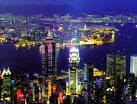 100$の夜景 香港