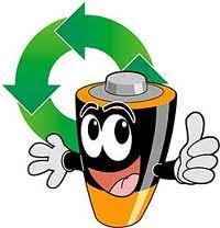 Recicle pilhas...