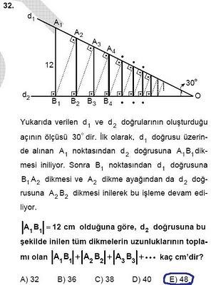 2010 lys matematik 32. soru