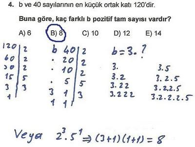 2010 lys matematik 4. soru ve çözümü