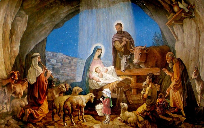 H I S PANIC Everyones Favorite Scene Nativity