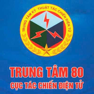 Logo Trung tâm 80 Cục Tác chiến Điện tử