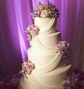 bolo casamento de 4 andares