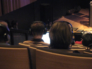 audience listening to binaural rendered sound