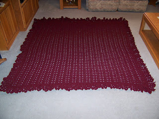 one BIG Afghan