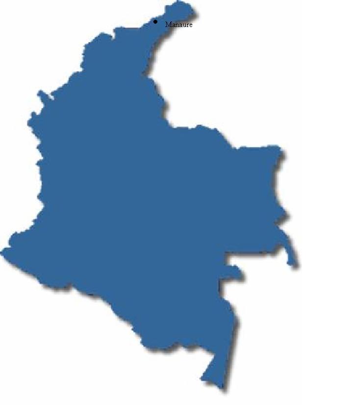 informacion del mapa de colombia