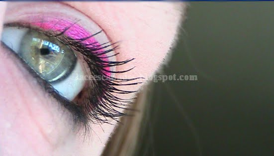 pink eyeliner for a while, but it's always kind of scared me,