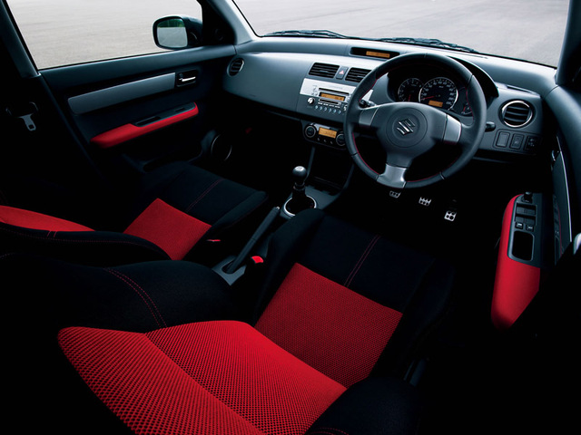 Name Your Blog Eightq: 2006 Suzuki Swift Interior