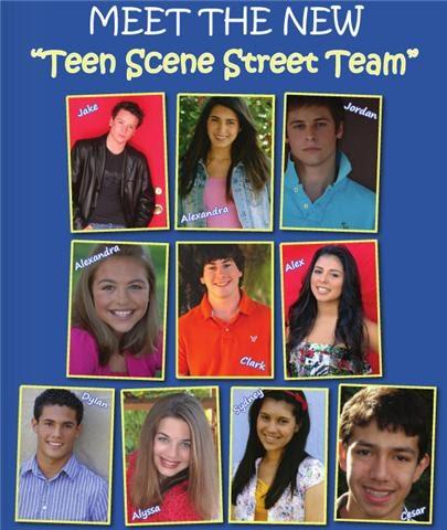 Teen scene magazine website