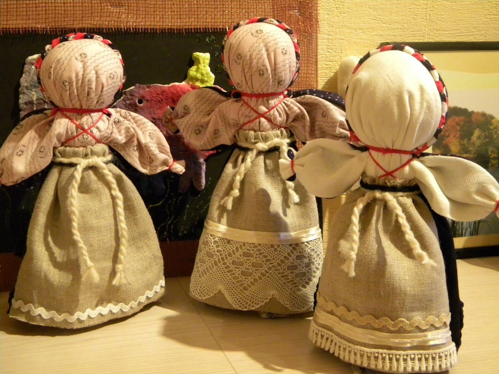 Как сделать куклу с секретом