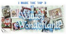 I made the top 3! Dec. 3, 2010 (shaped card)