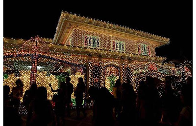 Christmas lights music on houses in philippines for Christmas house music