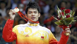Lin Dan Beijing 2008 Olympics Badminton Singles champion