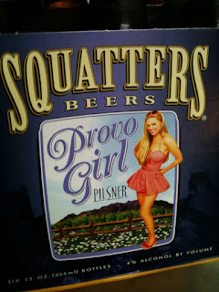 Provo Girl six pack carrier image