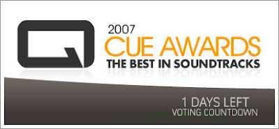 Last day to vote in the Cue Awards