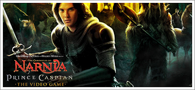 Prince Caspian Game to Bonus Footage and Score Info