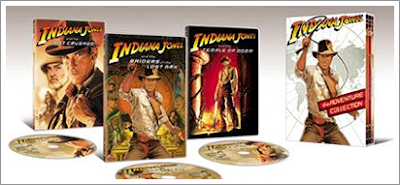 New Indiana Jones DVD Set - The Adventure Collection