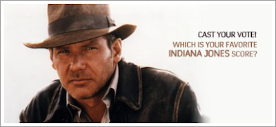 Your Favorite Indiana Jones Score? Vote.
