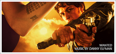 Exclusive Soundclips from WANTED by DANNY ELFMAN!