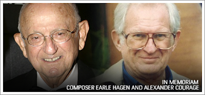 Mourning Composers Earle Hagen and Alexander