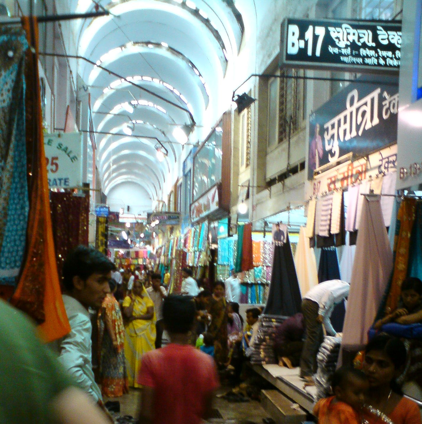Many of the textile markets