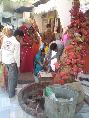 Jadula ceremony - Rajasthan, Salasar