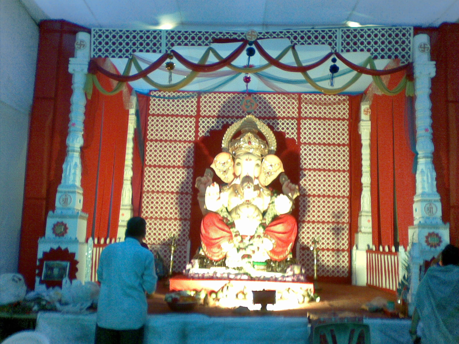 Ganpati Mandal Decoration