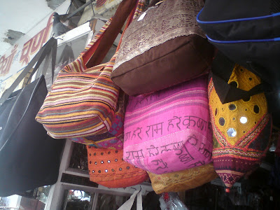 Cloth bags or jholas of Jaipur