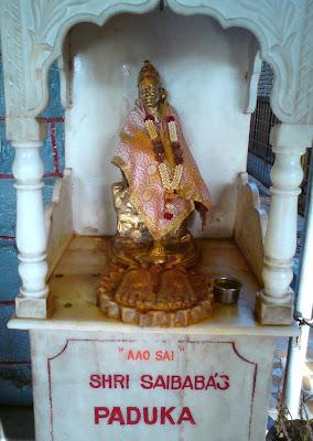 Khandoba Mandir, Shirdi - Sai Baba's Padukas