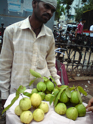 Guavas in the Shirdi Markets