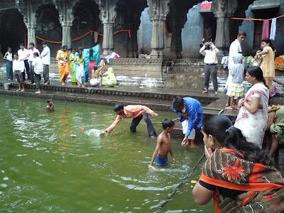 People at the Kushavart kund
