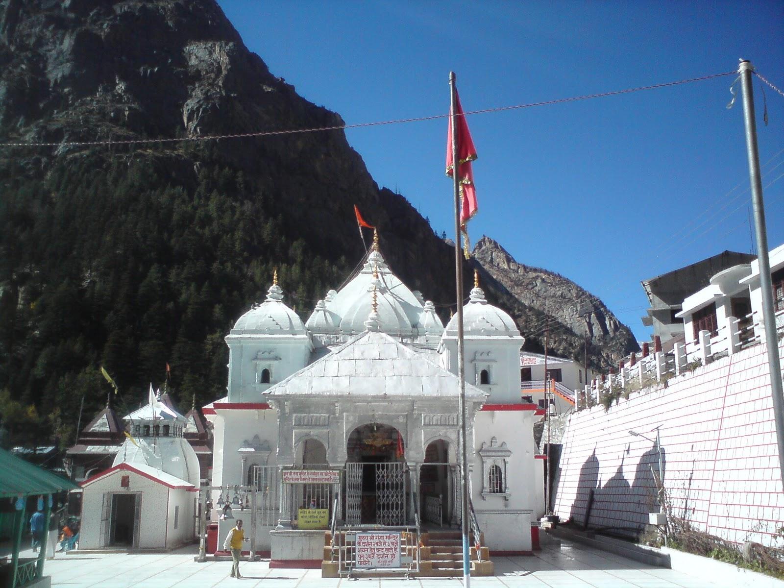 Gangotri Temple Enchanting Mother Gang...