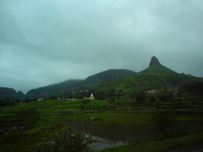 Anjaneri Mountain near Trimbakeshwar - the birthplace of  Lord Hanuman