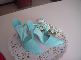 modelling gumpaste shoes