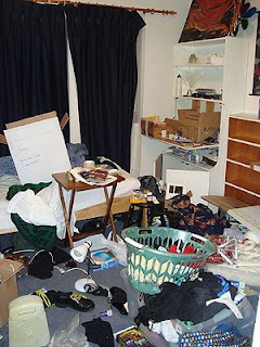 Jen's room at home