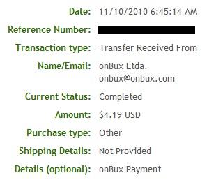 Pagamento OnBux - PTCs em Prática