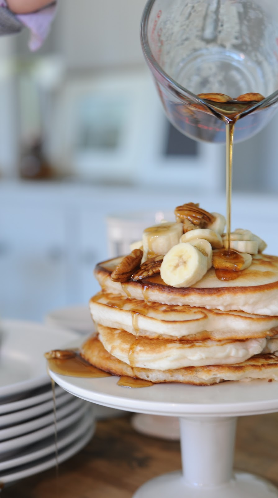 Jenny Steffens Hobick: Recipes | Banana Pecan Pancakes ...