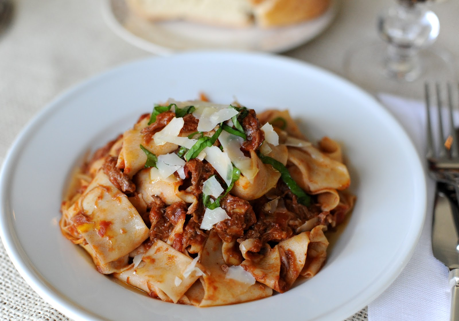 Braised Beef Ragu with Pappadelle