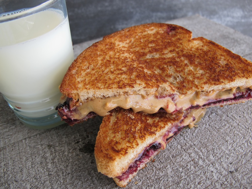 peanut butter jelly grilled peanut butter jelly sandwich grilled what ...