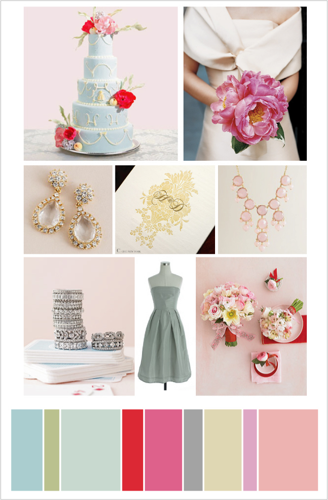 The bliss list design board sophisticated bright colors for Sophisticated color palette