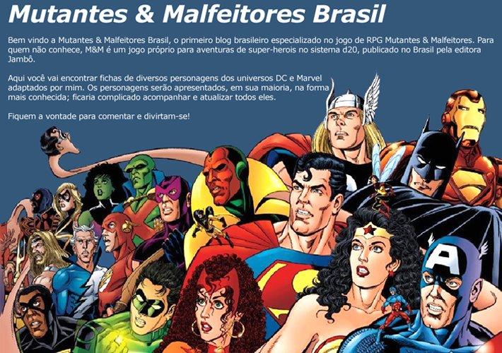 Mutantes & Malfeitores Brasil