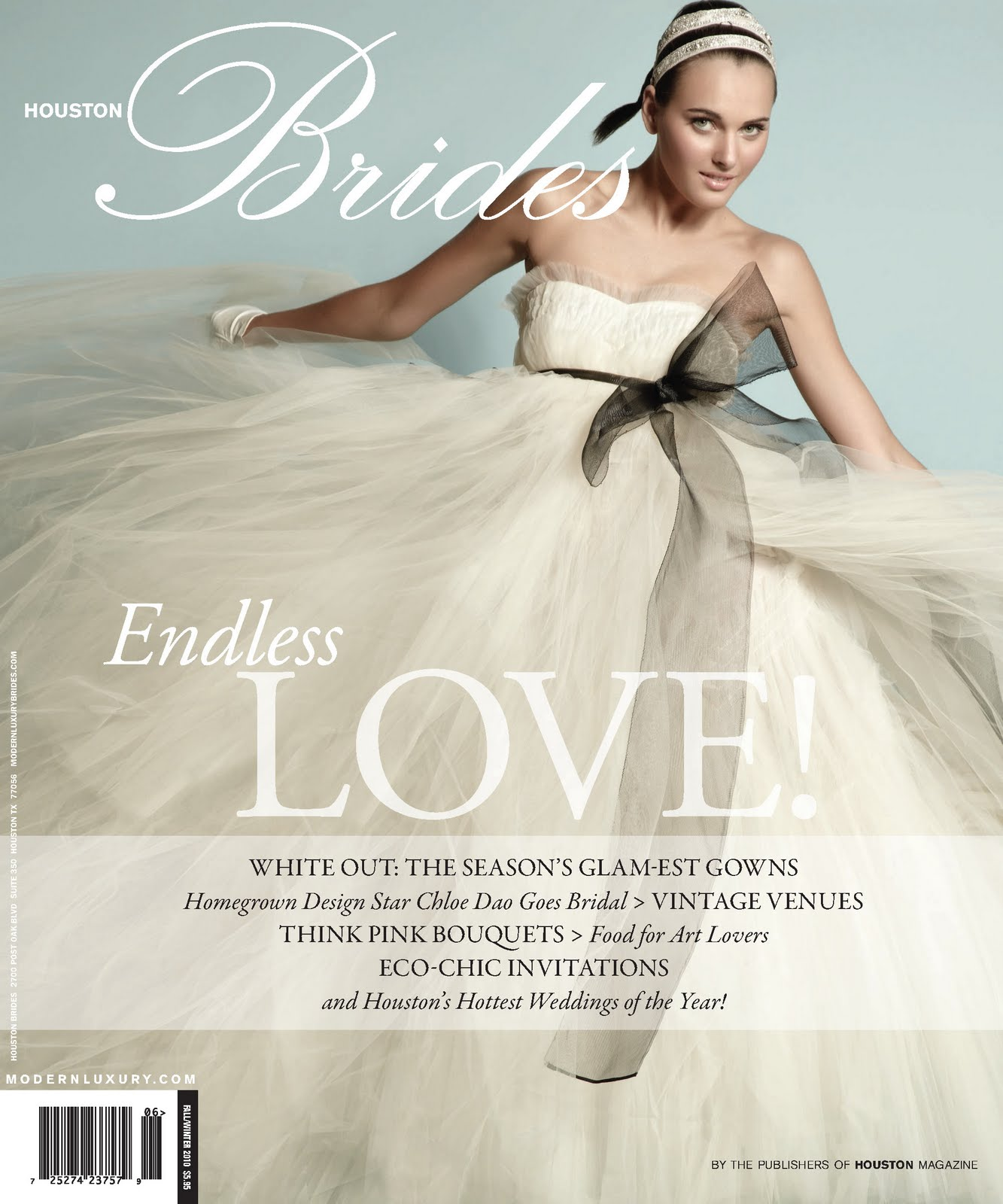 Modern Luxury Bride's Magazine