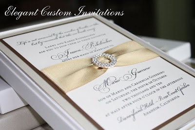 She Went With The Box Mailer Style Boxed Invitations With The Jewelled  Accent. Jessica Was Married In Disneyland In October.